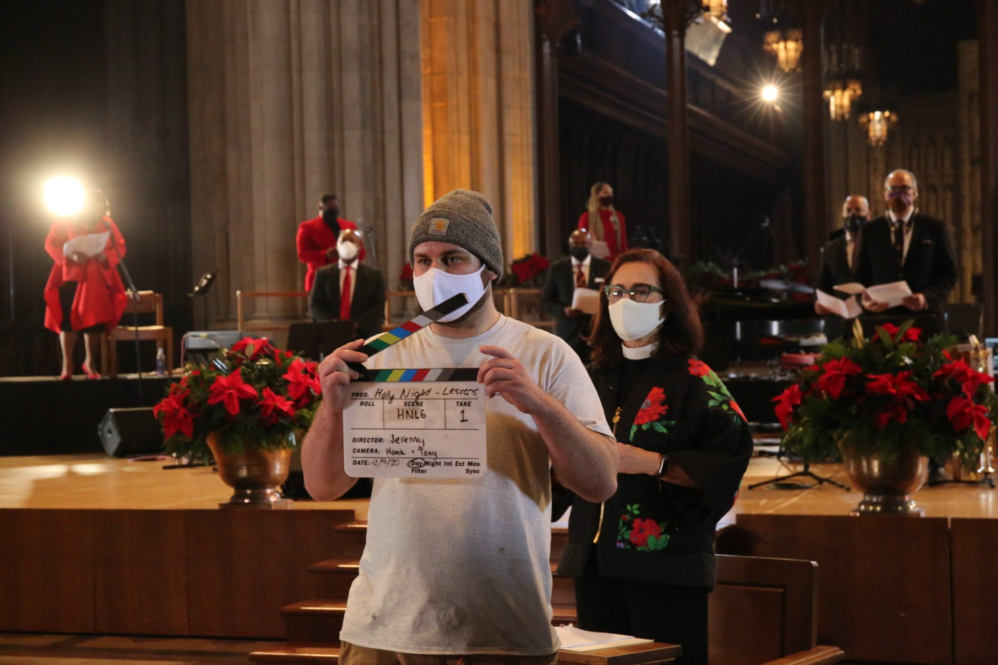 PHOTOS: National Cathedral Takes Its 2020 Christmas Services Virtual