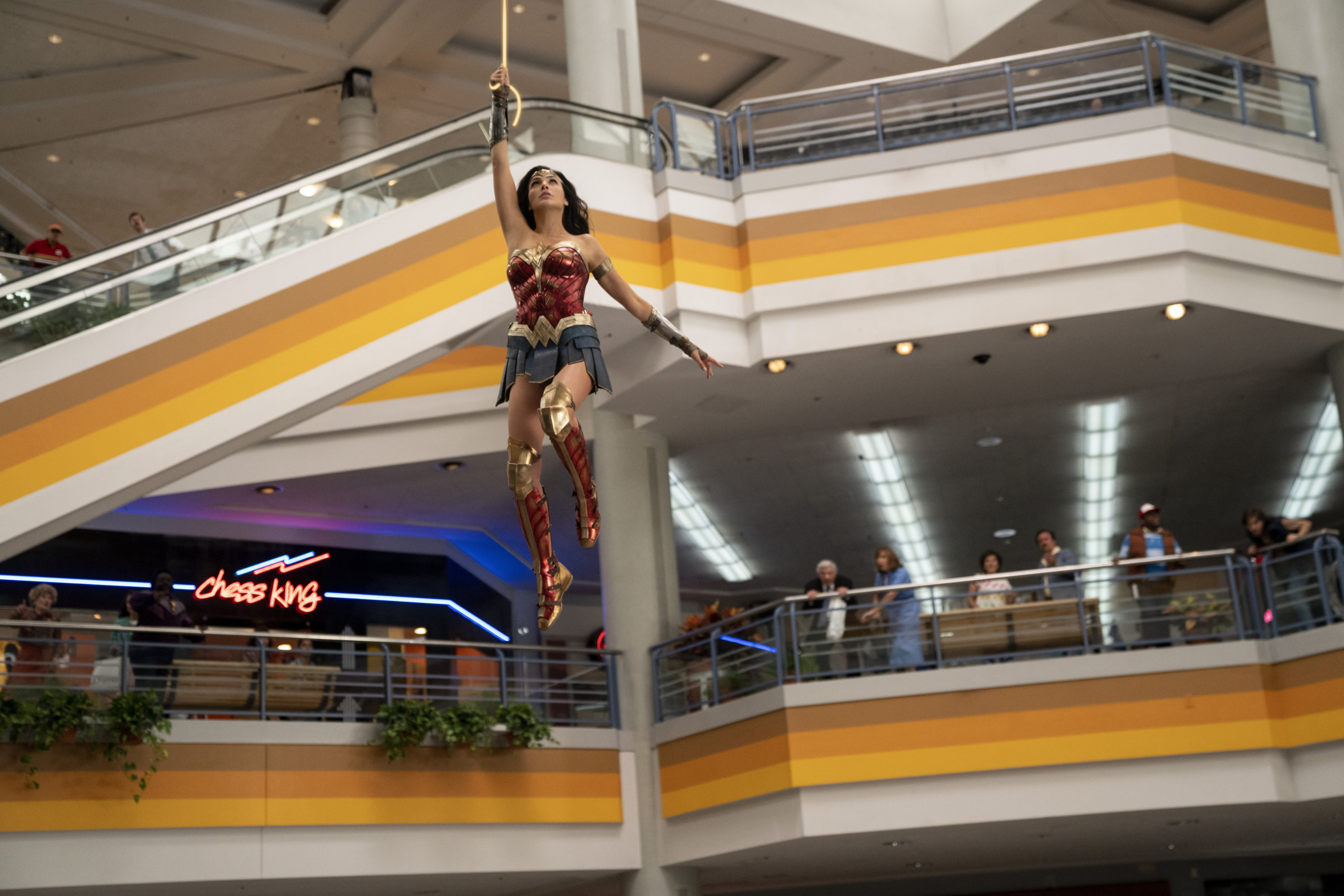 Wonder Woman Kicked So Much Butt at Landmark Mall That They Had to Turn It  Into a Hospital | Washingtonian (DC)