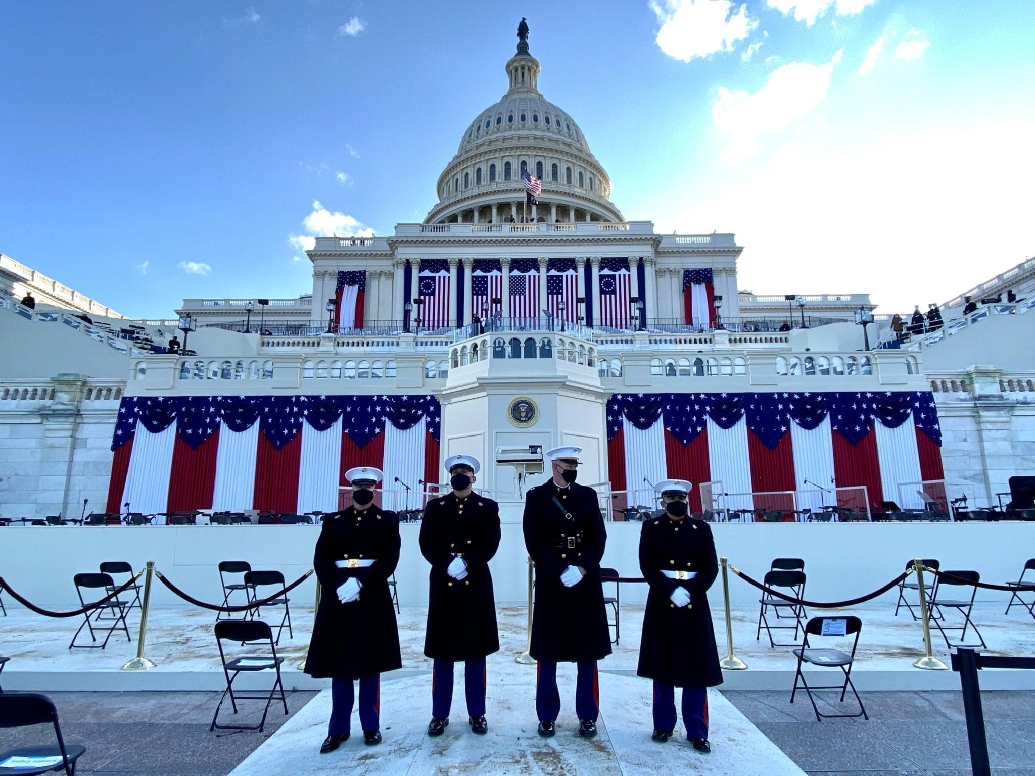 PHOTOS: Scenes From Joe Biden and Kamala Harris's Inauguration