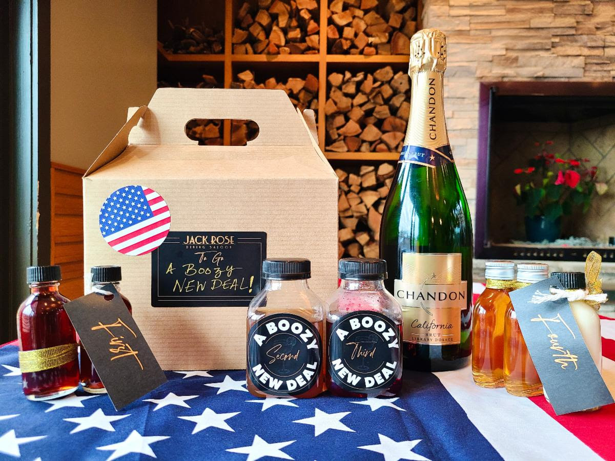 Sip a cocktail kit during the inauguration. Photo courtesy of Jack Rose Dining Saloon.