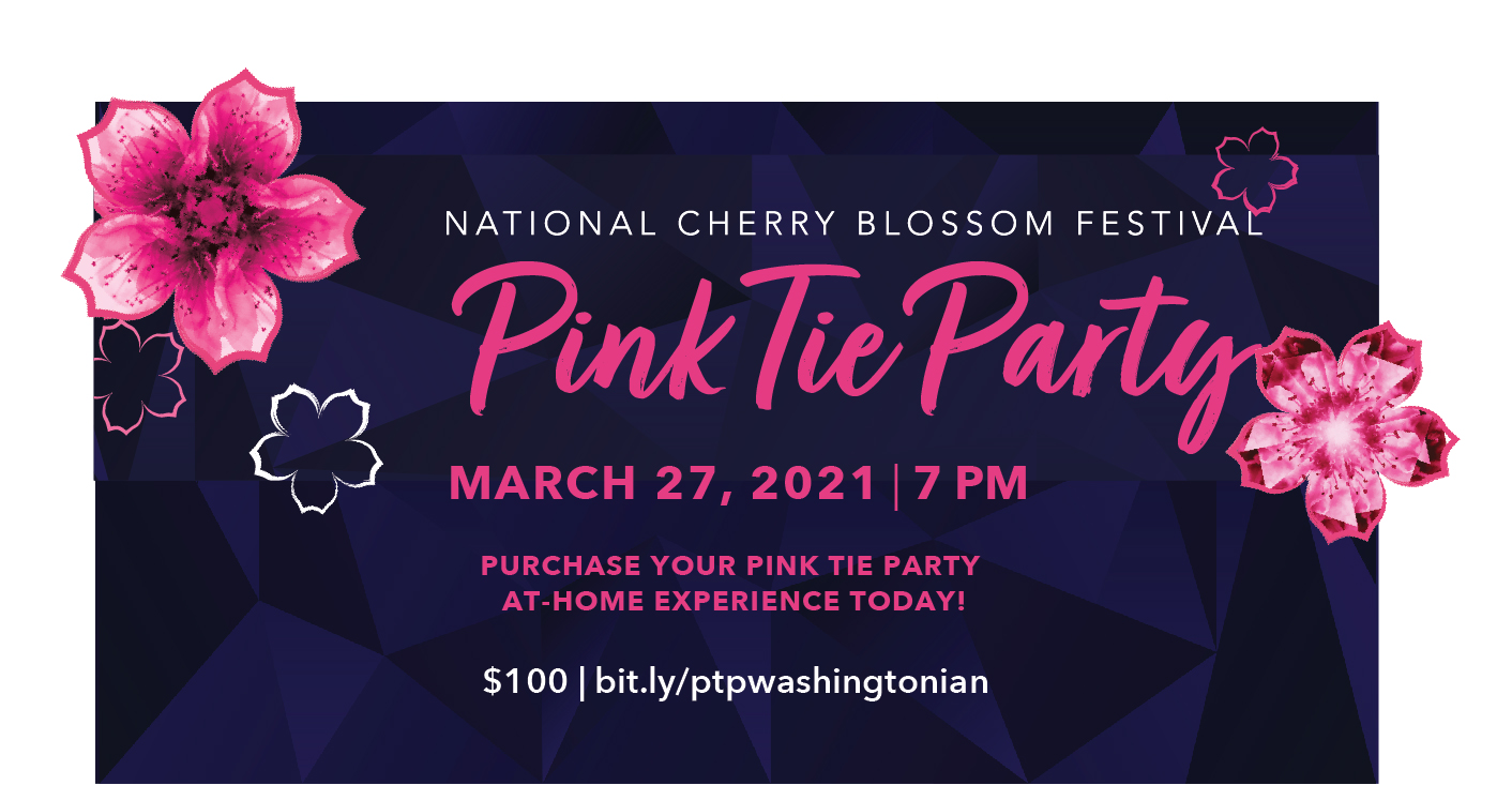 National Cherry Blossom Festival Reimagines the Pink Tie Party to Support Area Restaurants