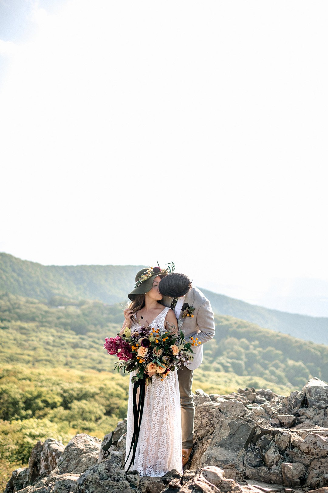 Boho Mountain Elopement in Shenandoah National Park_1001 Angles Photography_Shenandoah National Park Adventure Elopement-110_low