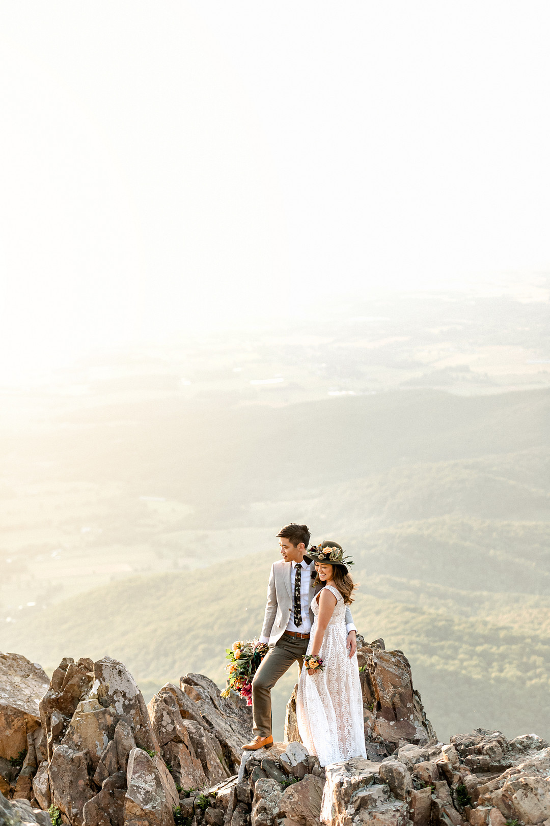 Boho Mountain Elopement in Shenandoah National Park_1001 Angles Photography_Shenandoah National Park Adventure Elopement-209_low