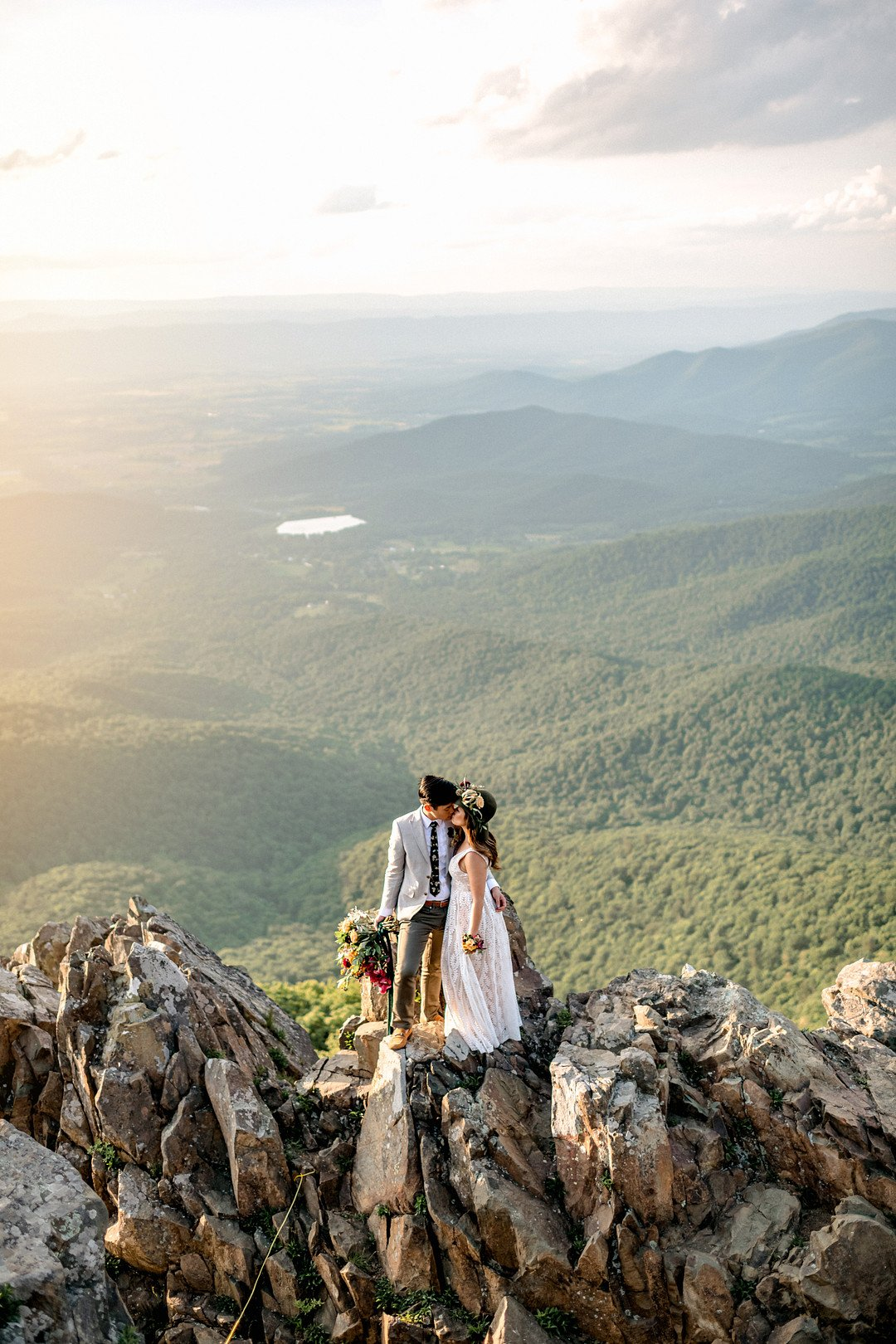 Boho Mountain Elopement in Shenandoah National Park_1001 Angles Photography_Shenandoah National Park Adventure Elopement-215_low
