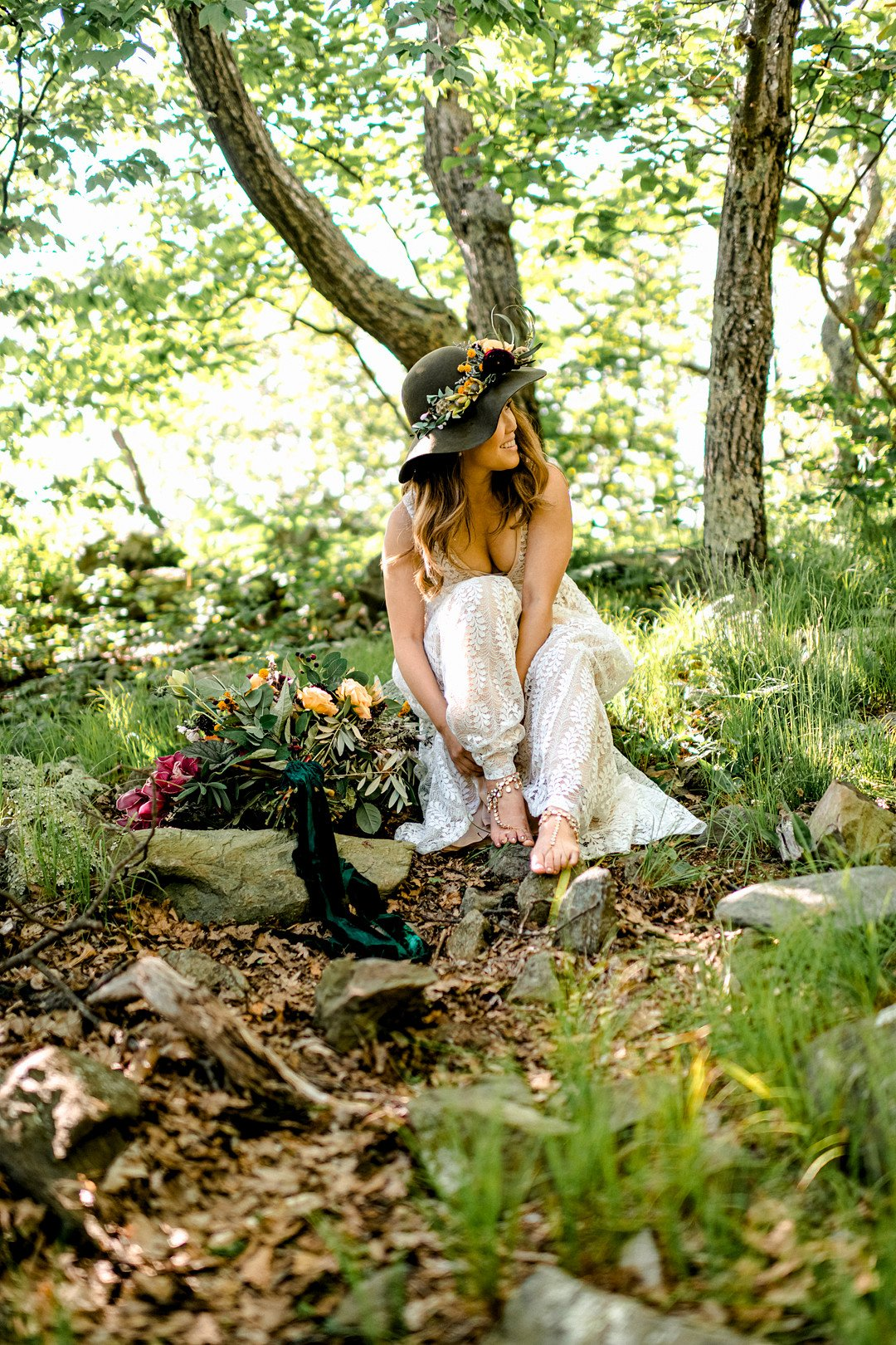 Boho Mountain Elopement in Shenandoah National Park_1001 Angles Photography_Shenandoah National Park Adventure Elopement-23_low