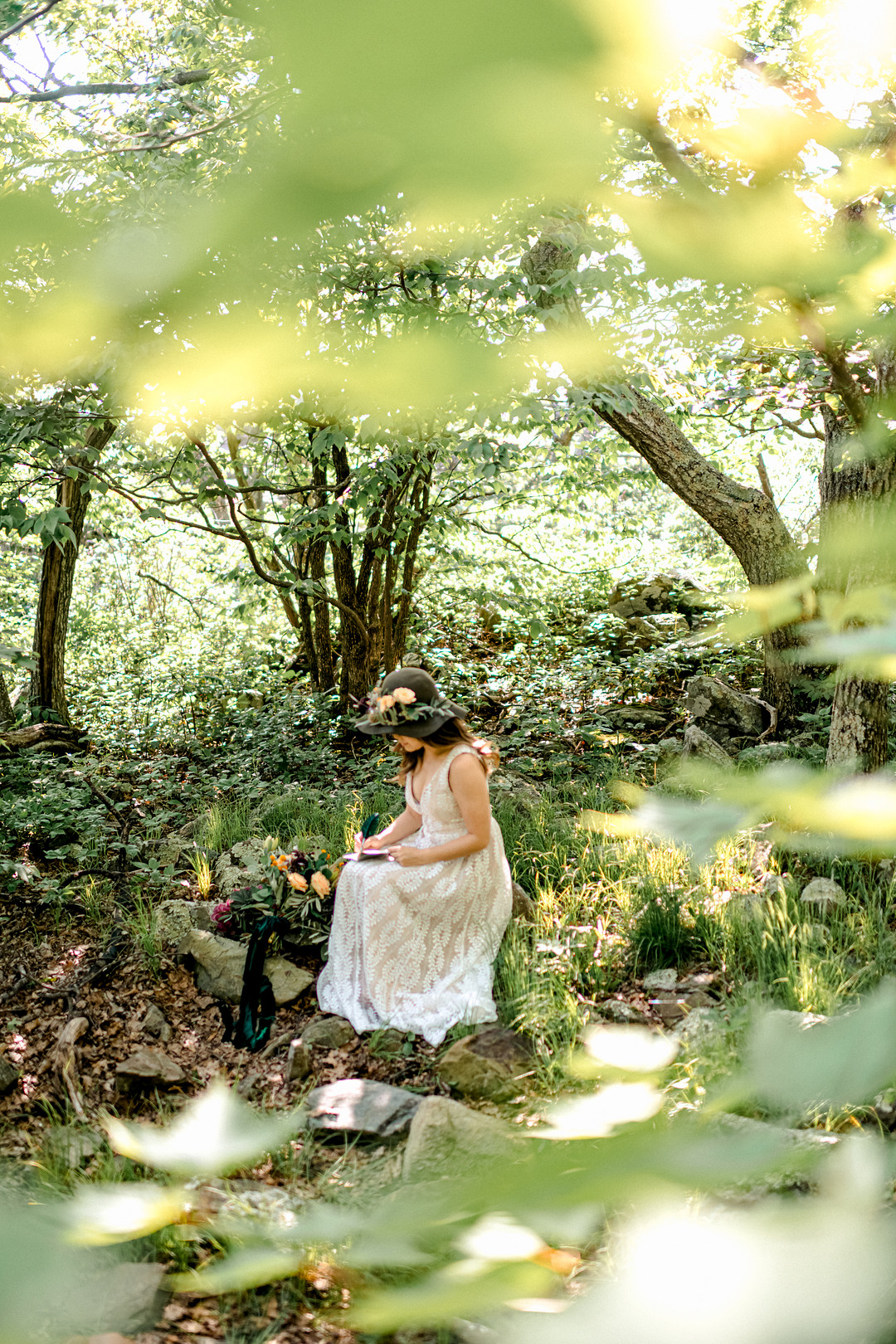 Boho Mountain Elopement in Shenandoah National Park_1001 Angles Photography_Shenandoah National Park Adventure Elopement-26_low