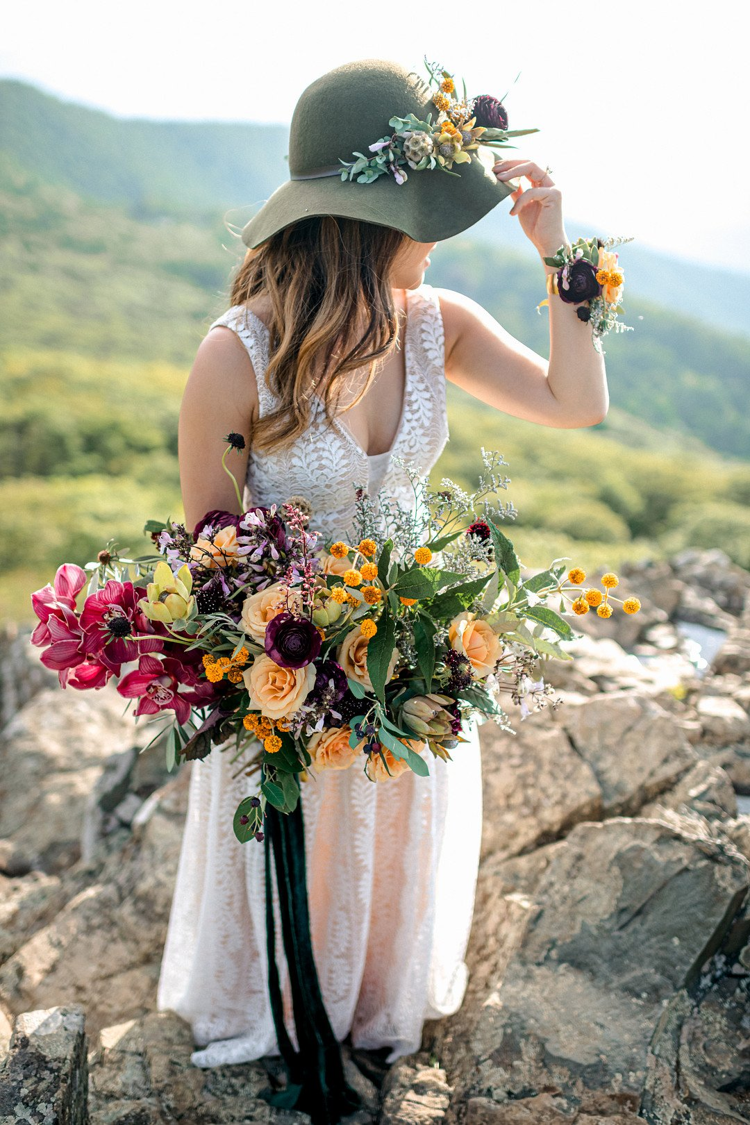 Boho Mountain Elopement in Shenandoah National Park_1001 Angles Photography_Shenandoah National Park Adventure Elopement-70_low