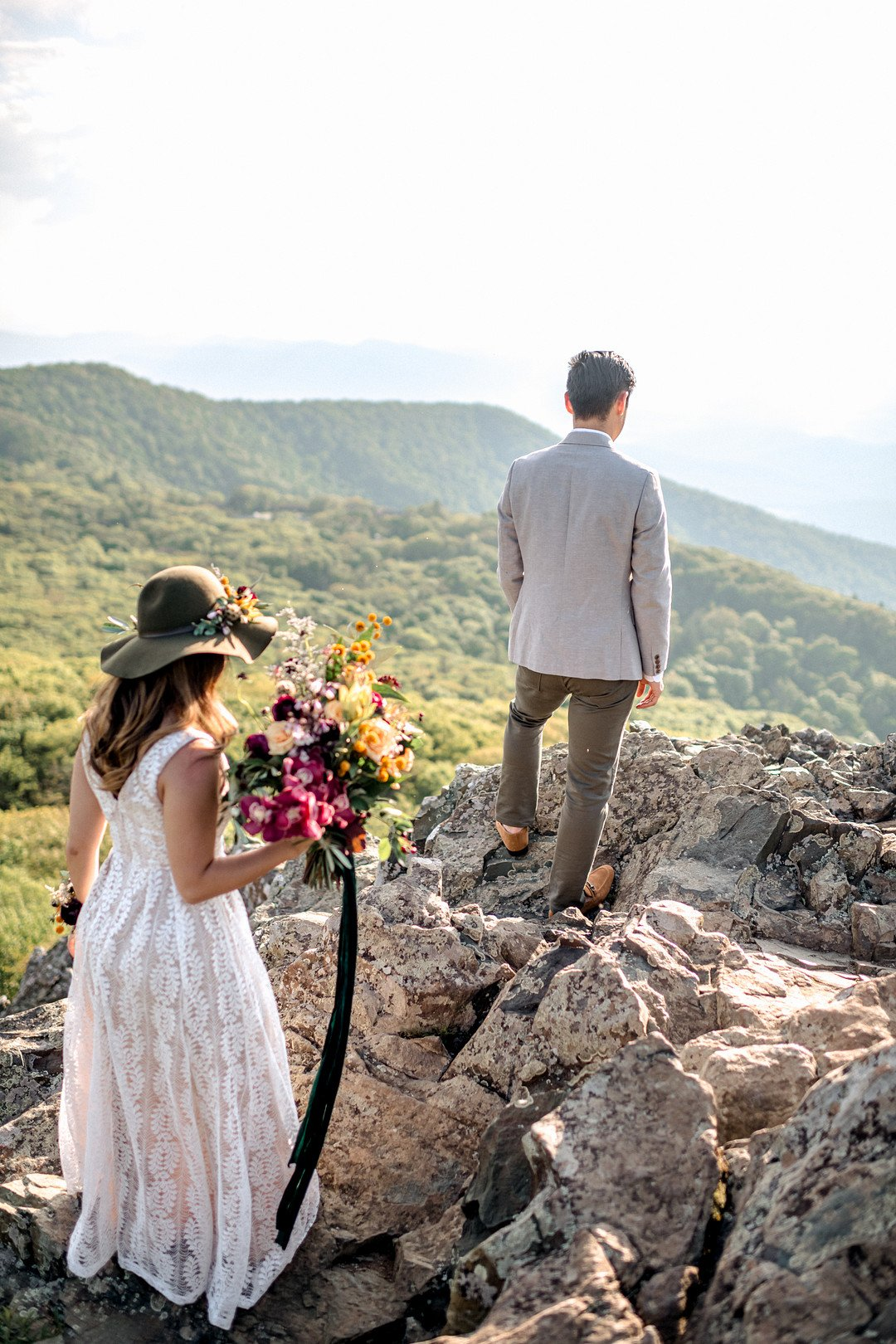 Boho Mountain Elopement in Shenandoah National Park_1001 Angles Photography_Shenandoah National Park Adventure Elopement-94_low