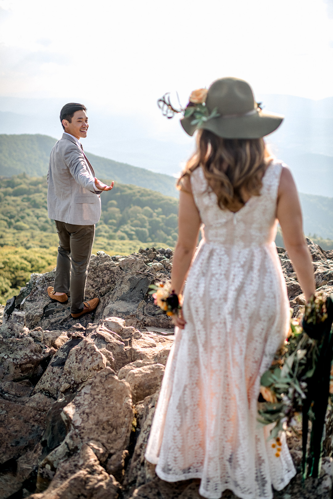 Boho Mountain Elopement in Shenandoah National Park_1001 Angles Photography_Shenandoah National Park Adventure Elopement-98_low