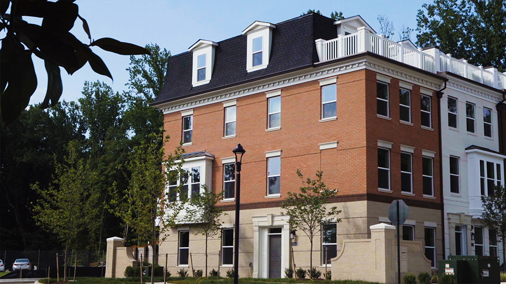 The Townes At Grosvenor Place: North Bethesda's Best New Four-Level Townhomes