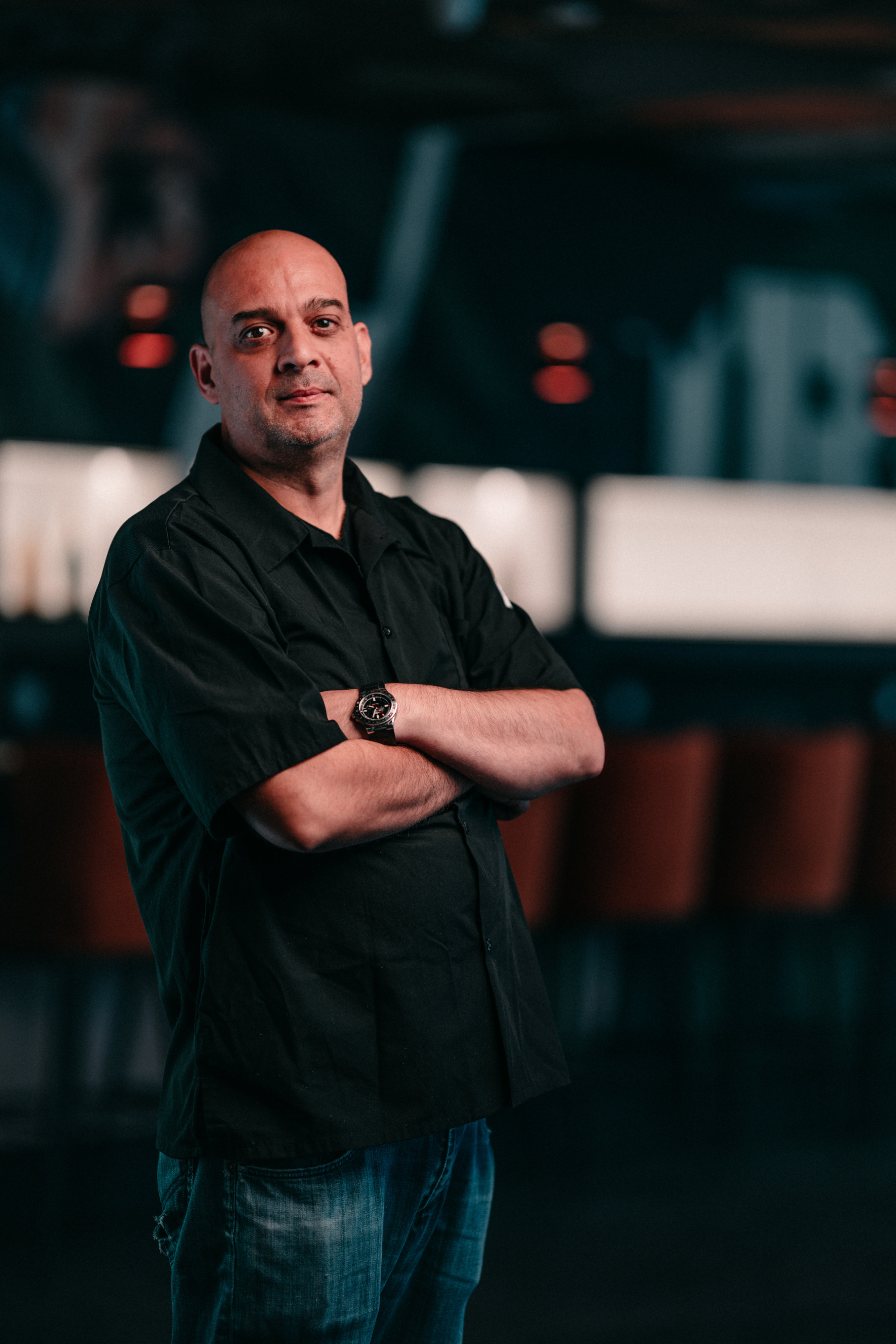 Chef Eleftherios Natas is bringing a global perspective to the small plate menu. Photo by Timothy Yantz.