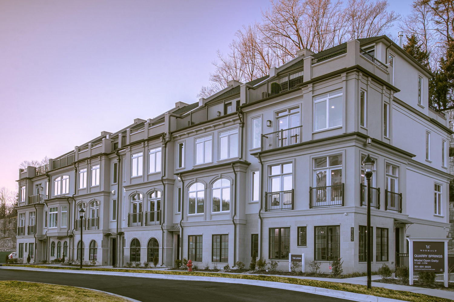 Bethesda's Quarry Springs Elevator Townhomes Sky Rocket in Sales During Grand Opening
