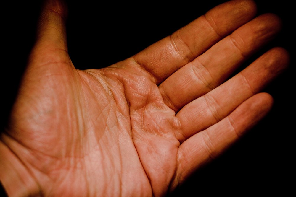 Your new credit card: the human palm. Photo by Flickr User Mark Ramsay.