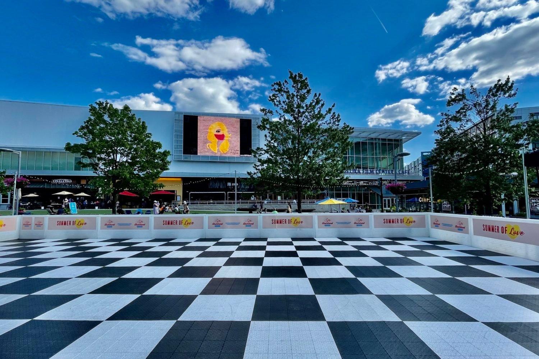 Mosaic Skateland in Fairfax opens Saturday. Photo courtesy of EDENS.
