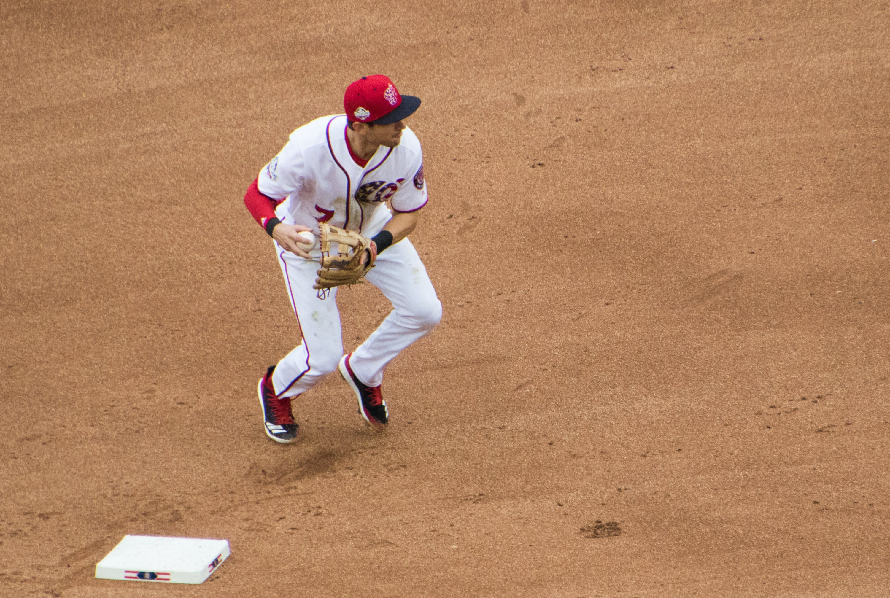 Nationals player Trea Turner tested positive for Covid on Tuesday. Photo by Flickr user Dave.