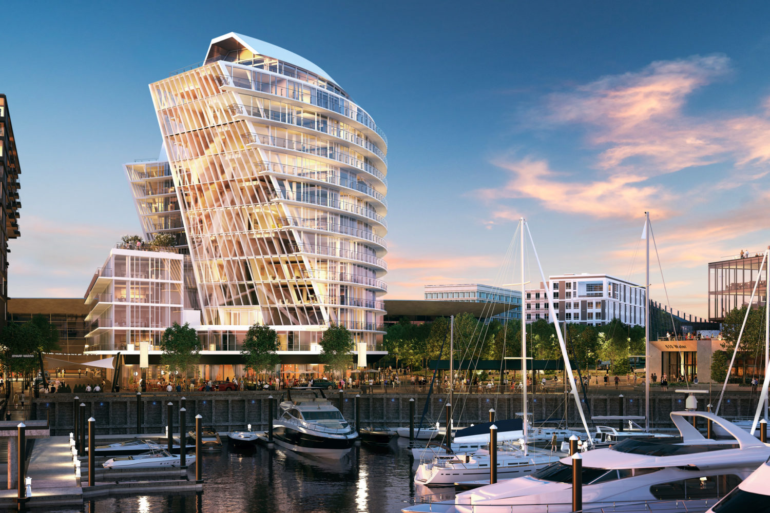 Sales Gallery for Amaris is Now Open: Explore the Newest Condominiums Coming to The Wharf