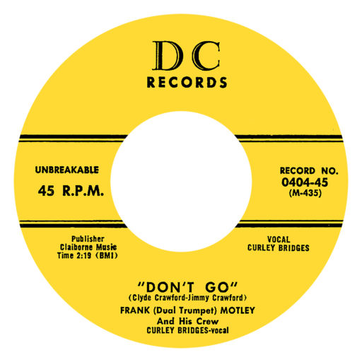 DC 0404 Label 45-A