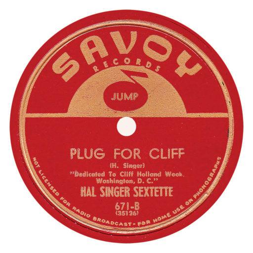 Savoy 671 Label 78-B copy