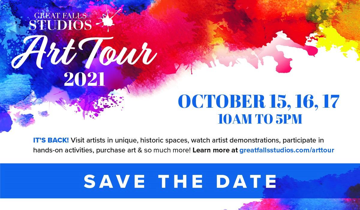 Great Falls Studios – Art Tour 2021