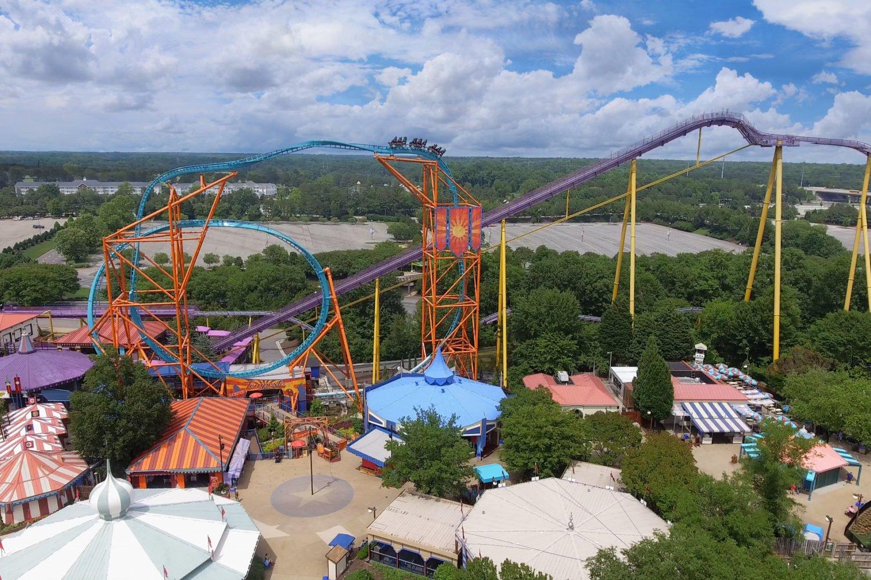 Busch Gardens in Williamsburg will be home to mega-roller coaster Pantheon. Photo courtesy of Busch Gardens.