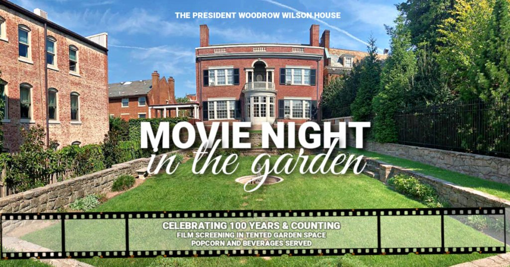 """Movie Night in The Garden at The Wilson House: """"Downton Abbey"""""""