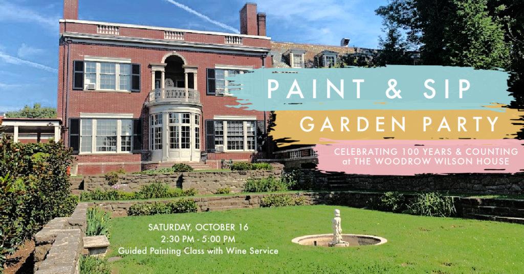 Paint & Sip Garden Party